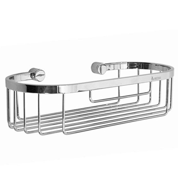 Smedbo YK374 Time Soap Basket Straight 1 Level in Polished Chrome