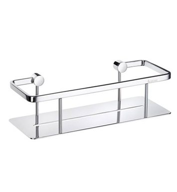 Smedbo ZK374 Pool Soap Basket Straight 1 Level in Polished Chrome
