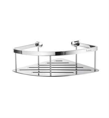 Smedbo DK3031 Sideline Corner 1 Level in Polished Chrome