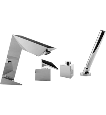 Graff G-2251-LM23B-PC Stealth Roman Tub Faucet Set With Finish: Polished Chrome