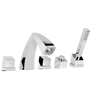 Graff G-3051-C10B-PC Fontaine Roman Tub Faucet Set With Finish: Polished Chrome