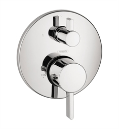 Hansgrohe S Thermostatic Trim with Volume Control and Diverter