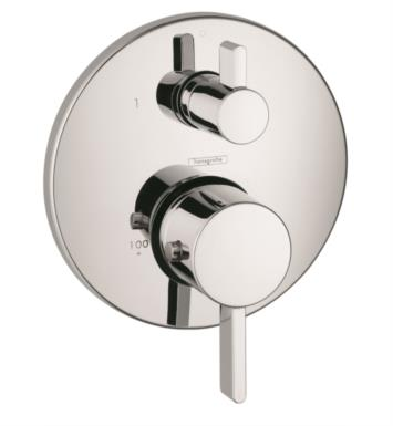 "Hansgrohe 04231 Ecostat S 6 3/4"" Thermostatic Trim with Volume Control and Diverter"