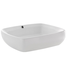 Fresca FVS6119WH Bellezza White Vessel Sink