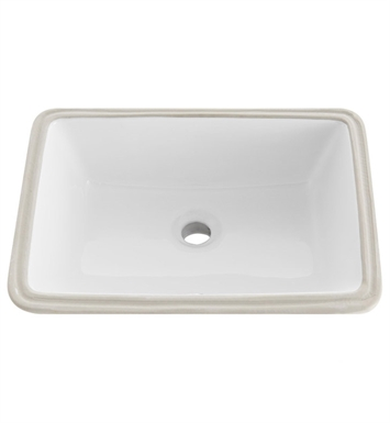 "Fresca FVS6119WH-UNS Bellezza 60"" White Undermount Sink"