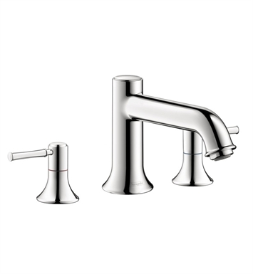 Hansgrohe 14313821 Talis C 3 Hole Roman Tub Set Trim With Finish: Brushed Nickel
