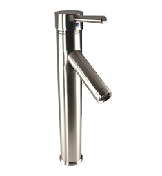 Fresca FFT1045BN Soana Single Hole Vessel Mount Bathroom Faucet in Brushed Nickel