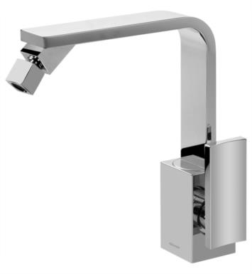 "Graff G-3660-LM36-SN Targa 5 7/8"" Single Handle Bidet Faucet with Pop-Up Drain With Finish: Steelnox (Satin Nickel)"