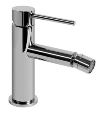 "Graff G-6161-LM41-SN M.E. 25 5 7/8"" Single Handle Bidet Faucet Set with Pop-Up Drain With Finish: Steelnox (Satin Nickel)"