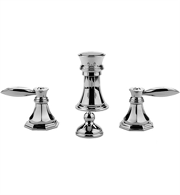 Graff G-1960-LM14-SN Topaz Bidet Faucet Set With Finish: Steelnox (Satin Nickel)