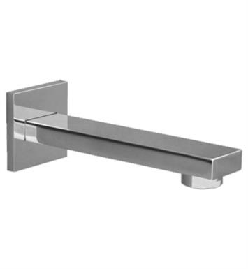 "Graff G-8575-PN 8"" Contemporary Wall Mount Tub Spout With Finish: Polished Nickel"