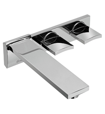 Graff G-3630-C14W-SN Targa Wall Mounted Lavatory Faucet With Finish: Steelnox (Satin Nickel)