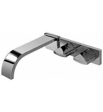 Graff G-1830-C14W-SN Sade Wall Mounted Lavatory Faucet With Finish: Steelnox (Satin Nickel)