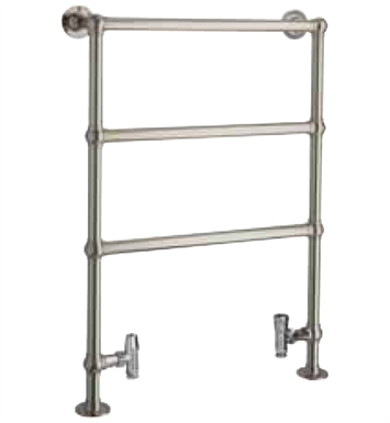 Myson B24-1SN Inn Traditional Hydronic Towel Warmer With Finish: Satin Nickel
