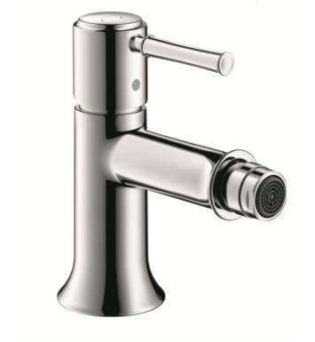 Hansgrohe 14120821 Talis C Single-Hole Deck Mounted Bidet Faucet With Finish: Brushed Nickel