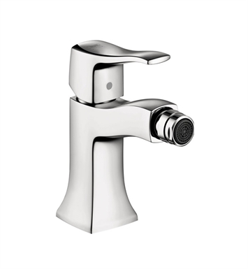Hansgrohe 31275831 Metris C Single Hole Bidet Faucet With Finish: Polished Nickel
