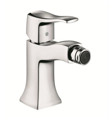 "Hansgrohe 31275831 Metris C 5 3/8"" Single-Hole Deck Mounted Bidet Faucet With Finish: Polished Nickel"