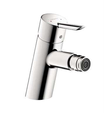 "Hansgrohe 31721001 Focus S 5 1/2"" Single-Hole Deck Mounted Bidet Faucet in Chrome"