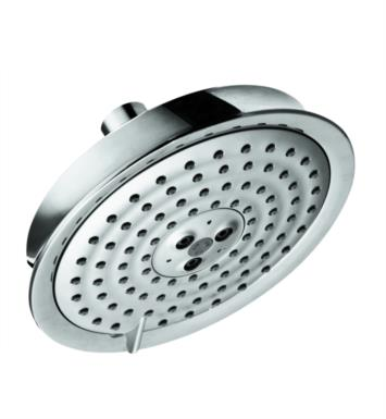 "Hansgrohe 28471831 Raindance C 150 6 1/4"" Wall Mount Round 3-Jet Showerhead With Finish: Polished Nickel"
