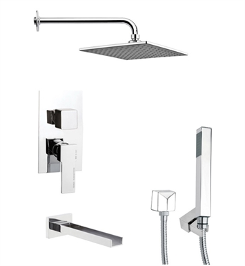 Nameeks TSH4110 Remer Tub and Shower Faucet