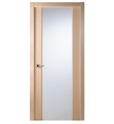 Arazzinni Grand 202 Interior Door in a Bleached Oak Finish with Frosted Glass