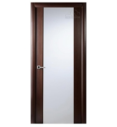 Arazzinni Grand 202 Interior Door in a Wenge Finish with Frosted Glass