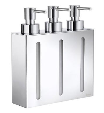 Smedbo FK259 Outline Soap Dispenser Wallmount in Polished Chrome