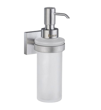 Smedbo RS369 House Soap Dispenser Wallmount in Brushed Chrome