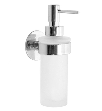 Smedbo YK369 Time Soap Dispenser Wallmount in Polished Chrome
