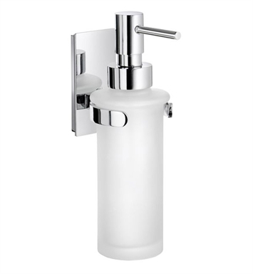 Smedbo ZK369 Pool Soap Dispenser Wallmount in Polished Chrome