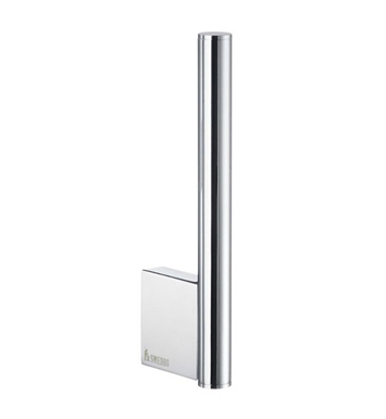 Smedbo AK320 Air Spare Toilet Roll Holder Wallmount in Polished Chrome