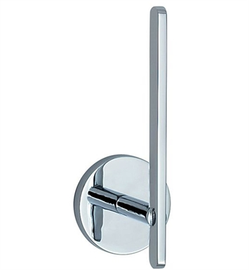 Smedbo LK320 Loft Spare Toilet Roll Holder Wallmount in Polished Chrome