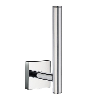 Smedbo RK320 House Spare Toilet Roll Holder Wallmount in Polished Chrome