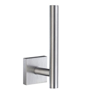 Smedbo RS320 House Spare Toilet Roll Holder Wallmount in Brushed Chrome