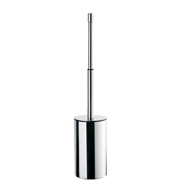 Smedbo FK640 Outline Toilet Brush Free Standing in Polished Chrome on Stainless Steel