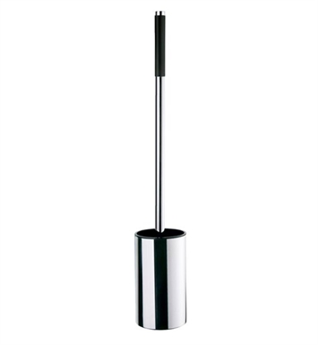 Smedbo FK641 Outline Toilet Brush Free Standing in Polished Chrome on Stainless Steel