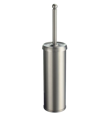 Smedbo V233N Villa Toilet Brush Free Standing in Brushed Nickel