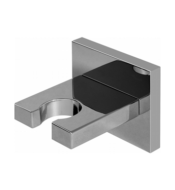 Graff G-8632-PC Contemporary Square Wall Bracket for Handshower With Finish: Polished Chrome