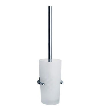 Smedbo LK333 Loft Toilet Brush Wallmount in Polished Chrome