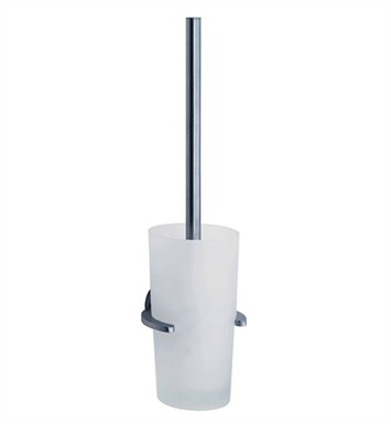 Smedbo LS333 Loft Toilet Brush Wallmount in Brushed Chrome