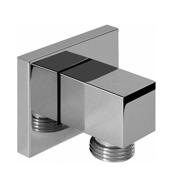 Graff G-8633-PC Contemporary Square Wall Supply Elbow With Finish: Polished Chrome
