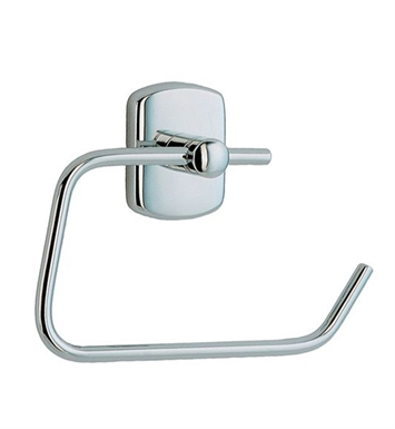 Smedbo CK341 Cabin Toilet Roll Euro Holder Without Lid in Polished Chrome
