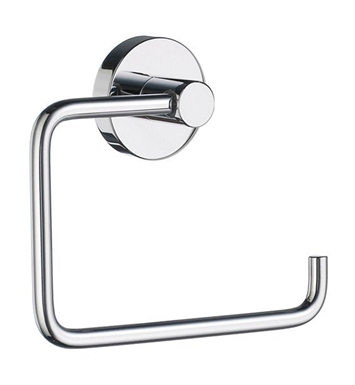 Smedbo HK341 Home Toilet Roll Euro Holder Without Lid in Polished Chrome