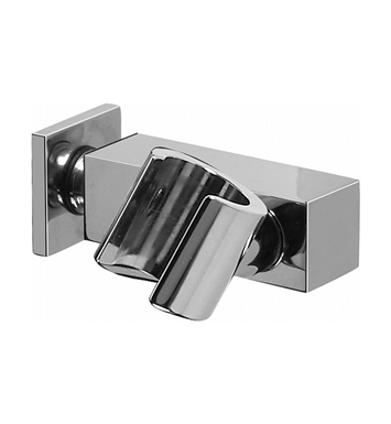 Graff G-8622-SN Contemporary Square Wall Bracket for Handshower With Finish: Steelnox (Satin Nickel)