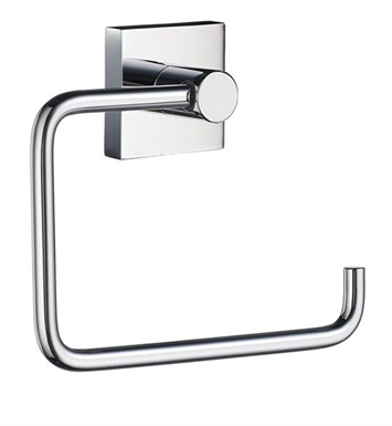Smedbo RK341 House Toilet Roll Euro Holder Without Lid in Polished Chrome
