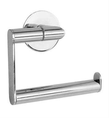 Smedbo YK341 Time Toilet Roll Euro Holder Without Lid in Polished Chrome