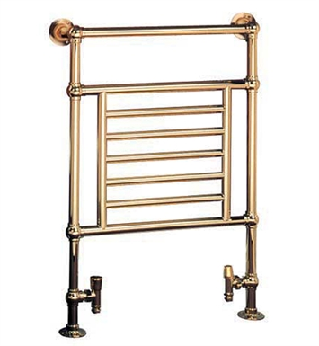 Myson B27-1RB Awe Traditional Hydronic Towel Warmer With Finish: Regal Brass
