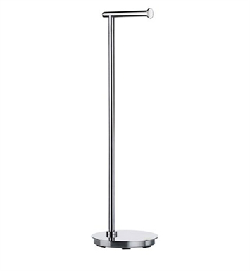Smedbo FK606 Outline Toilet Roll Euro Holder Free Standing in Stainless Steel Polished