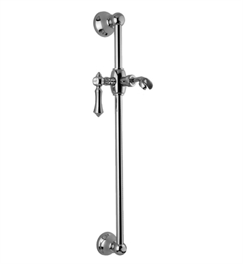 Graff G-8601-LM15S-PC Traditional Wall Mounted Slide Bar With Finish: Polished Chrome