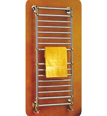 Myson B36-1RB Ullswater Traditional Hydronic Towel Warmer With Finish: Regal Brass